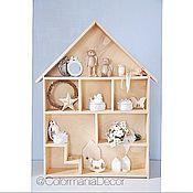 Для дома и интерьера ручной работы. Ярмарка Мастеров - ручная работа Домик для кукол. Handmade.
