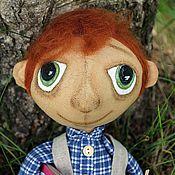 Куклы и игрушки ручной работы. Ярмарка Мастеров - ручная работа Мальчик Мойша. Handmade.