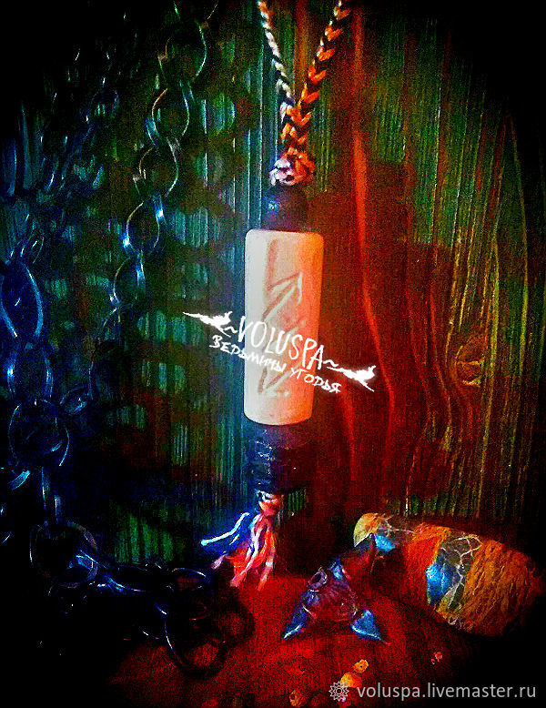 Amulet 'Electric shock220 volts', protection, wolf bone, Amulet, Sochi,  Фото №1