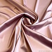 Материалы для творчества handmade. Livemaster - original item Fabric: Silk stretch dusty pink fabric production. Handmade.