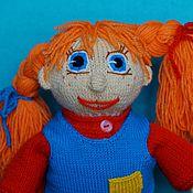 Куклы и игрушки ручной работы. Ярмарка Мастеров - ручная работа Пеппи Длинныйчулок, вязаная игрушка.. Handmade.