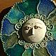 Этно ручной работы. Ярмарка Мастеров - ручная работа. Купить панно Звезда моря Керамика. Handmade. Звезда моря, голубой