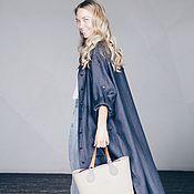 Одежда ручной работы. Ярмарка Мастеров - ручная работа Рубаха в стиле HYGGE. Handmade.