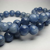 Материалы для творчества handmade. Livemaster - original item Kyanite, 8 mm, natural kyanite. Handmade.