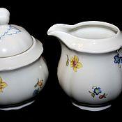 Винтаж handmade. Livemaster - original item Beautiful set of sugar Bowl and Milkman, Seltman Weiden, Germany. Handmade.