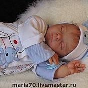 Куклы и игрушки ручной работы. Ярмарка Мастеров - ручная работа Спящий младенец. Молд Ребекка.. Handmade.