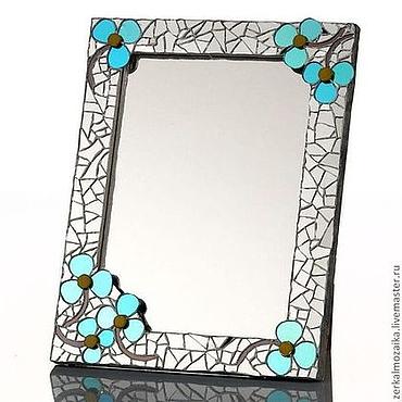 Для дома и интерьера ручной работы. Ярмарка Мастеров - ручная работа Зеркало в мозаичной рамке. Handmade.
