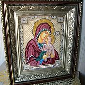 Картины и панно handmade. Livemaster - original item The icon of Holy Righteous Anna mother of the Theotokos. Handmade.