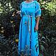 Платья ручной работы. Очаровательное платье с вышивкой. СЛАВный стиль от Заряны. Интернет-магазин Ярмарка Мастеров. Орнамент, длинное платье