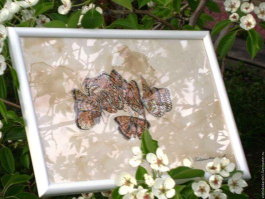 `Бабочки-перламутровки`. Графика. Ковалевская Ангелина.