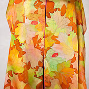 Wraps handmade. Livemaster - original item Batik stole