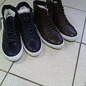 Обувь ручной работы. Ярмарка Мастеров - ручная работа зимние кроссовки. Handmade.
