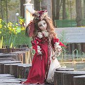 Куклы и игрушки ручной работы. Ярмарка Мастеров - ручная работа Джеральдина(Венецианский карнавал). Handmade.