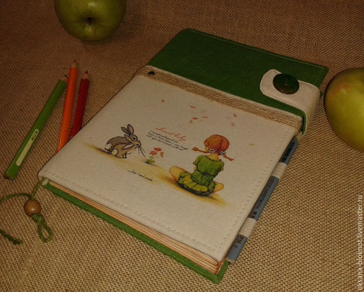 Блокноты ручной работы. Ярмарка Мастеров - ручная работа. Купить Блокнот ручной работы Детство А5 (формат А5). Handmade.
