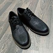 Обувь ручной работы handmade. Livemaster - original item Men`s boots, made of genuine monitor lizard leather, under the order!. Handmade.