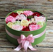 """Цветы и флористика ручной работы. Ярмарка Мастеров - ручная работа Букет из конфет """"Сладкий привет"""". Handmade."""