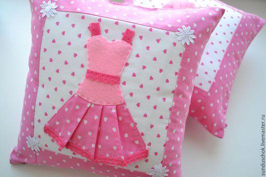 """Текстиль, ковры ручной работы. Ярмарка Мастеров - ручная работа. Купить Подушки для детской """"Будуар принцессы"""", бортики в кроватку. Handmade."""
