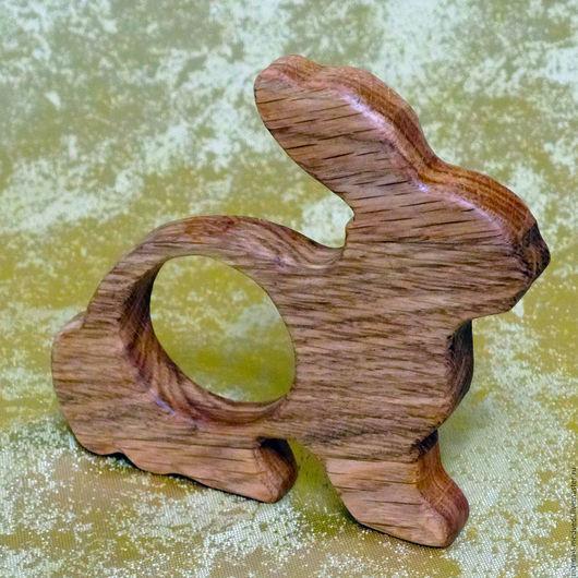 """Развивающие игрушки ручной работы. Ярмарка Мастеров - ручная работа. Купить Грызунок из дуба """"Зайчик"""". Handmade. Деревянный грызунок, грызунок"""