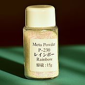 Материалы для творчества handmade. Livemaster - original item Decorative powder, rainbow 15 g (Japan). Shiny Glitter. Handmade.
