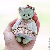 Куклы и игрушки ручной работы. Ярмарка Мастеров - ручная работа Мятная мишутка. Handmade.