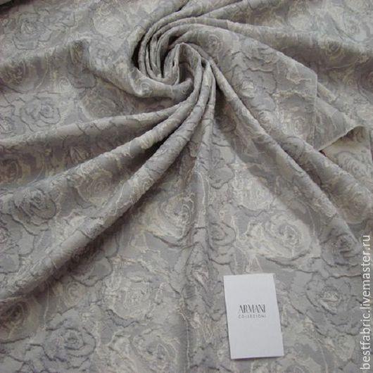 жаккард плат-костюмный сток ARMANI , Италия вискоза + ацетат + пэ шир. 142 см цена 2400 р средней толщины , мягкий, пластичный , не мнется для красивого платья, нарядного костюма, летнего пальто