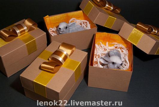 """Мыло ручной работы. Ярмарка Мастеров - ручная работа. Купить Сувенирное мыло """"Заинька"""". Handmade. Какао, подарок на день рождения"""