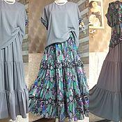 Одежда ручной работы. Ярмарка Мастеров - ручная работа Комплект Блуза , юбка 4 предмета. Handmade.