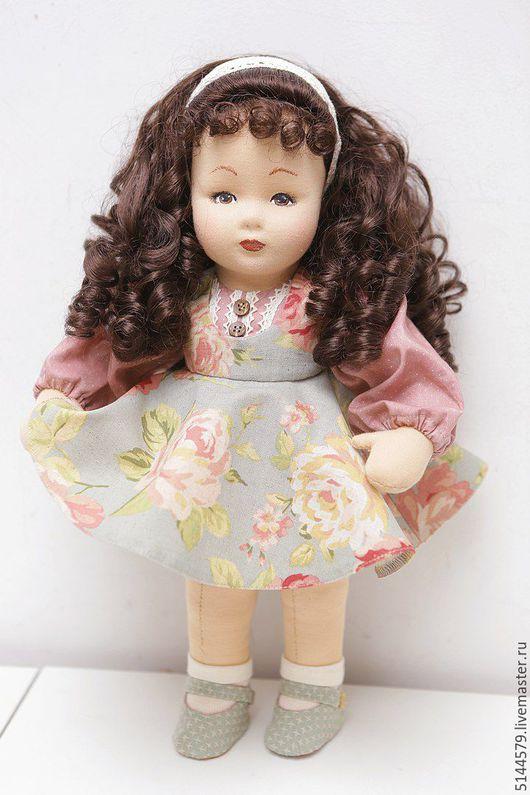 """Коллекционные куклы ручной работы. Ярмарка Мастеров - ручная работа. Купить Кукла текстильная """"Винтаж"""" 2. Handmade. Бледно-розовый"""