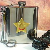 Сувениры и подарки handmade. Livemaster - original item Flask with the symbols of the USSR