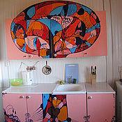 Дизайн и реклама ручной работы. Ярмарка Мастеров - ручная работа Переделка дачной кухни. Handmade.