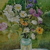 Картины и панно ручной работы. Ярмарка Мастеров - ручная работа Полевые цветы. Handmade.