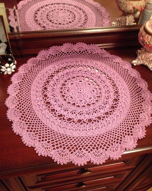 Текстиль, ковры ручной работы. Ярмарка Мастеров - ручная работа. Купить Салфетка М2-240. Handmade. Хлопок, мерсеризованный хлопок