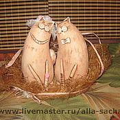 Свадебный салон ручной работы. Ярмарка Мастеров - ручная работа свадебная парочка. Handmade.
