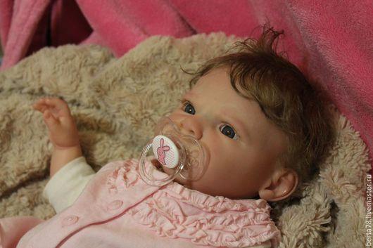 Куклы-младенцы и reborn ручной работы. Ярмарка Мастеров - ручная работа. Купить Сабриночка. Handmade. Кремовый, реборн