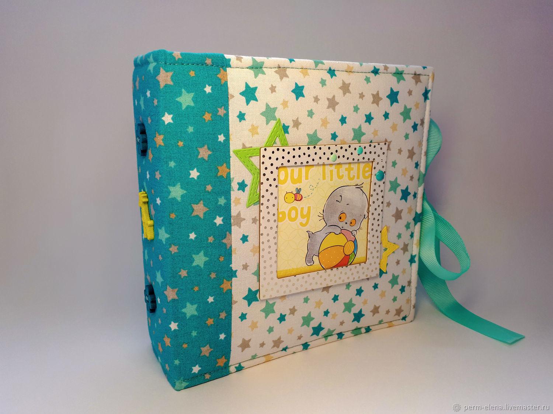 Фотоальбом с котиком, Подарки для новорожденных, Пермь,  Фото №1