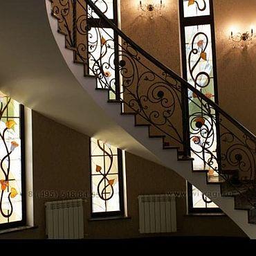Для дома и интерьера ручной работы. Ярмарка Мастеров - ручная работа Витражи Тиффани в окна в свой дом!. Handmade.