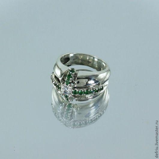 Кольца ручной работы. Ярмарка Мастеров - ручная работа. Купить Крупное серебрянное кольцо Империя. Handmade. Женское кольцо, крест