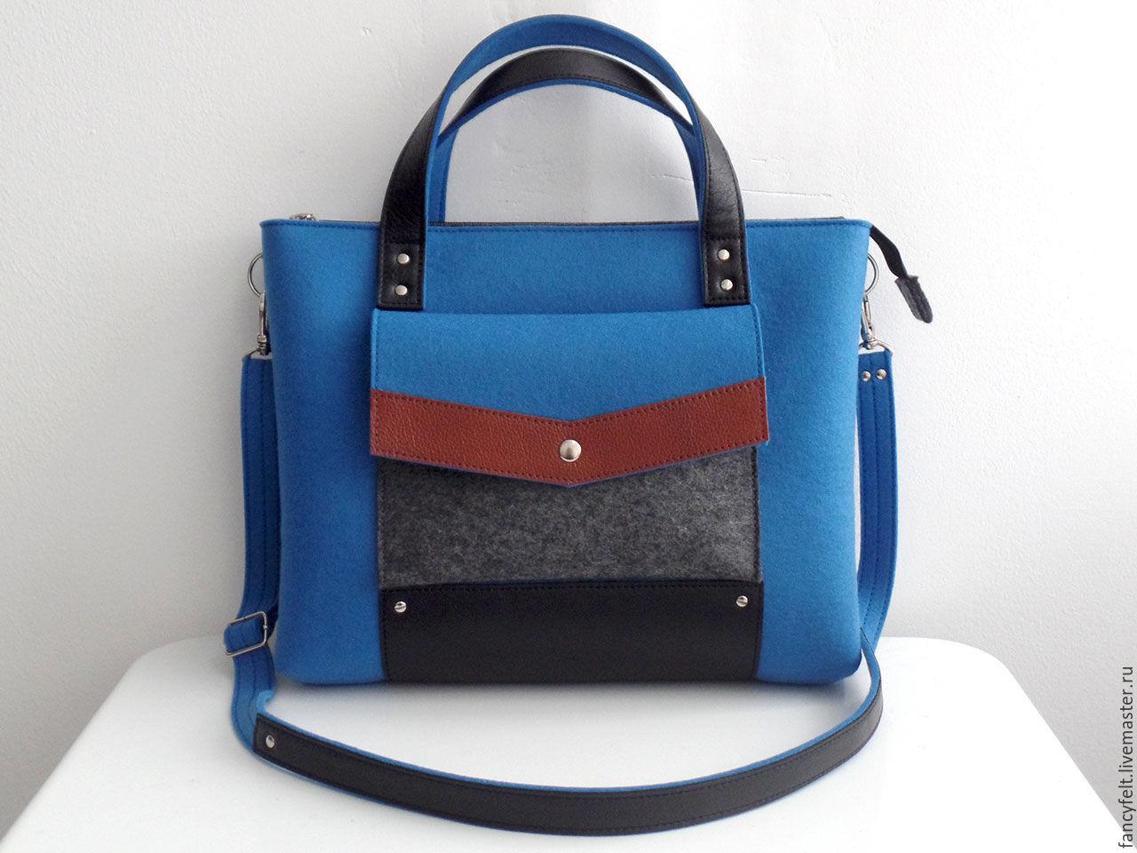 de29d71bc827 Женские сумки ручной работы. Ярмарка Мастеров - ручная работа. Купить  Светло-синяя сумка ...