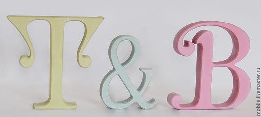 Интерьерные слова ручной работы. Ярмарка Мастеров - ручная работа. Купить Буквы из дерева. Handmade. Буквы из дерева, слова из дерева