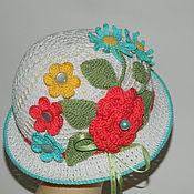 Работы для детей, ручной работы. Ярмарка Мастеров - ручная работа Шляпка для девочки Клумба, панамка, шляпа. Handmade.