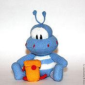 """Куклы и игрушки ручной работы. Ярмарка Мастеров - ручная работа вязаная игрушка """"Маленький пришелец"""". Handmade."""