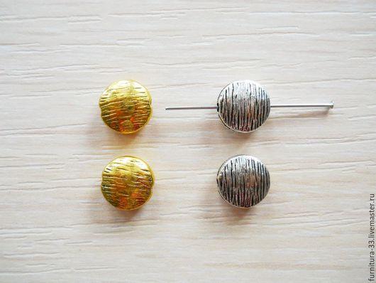 бусины, бусины металлические, бусины для украшений