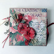 Канцелярские товары handmade. Livemaster - original item Mini album for photos