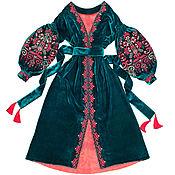 "Одежда handmade. Livemaster - original item Long dress ""Secret Garden"". Handmade."