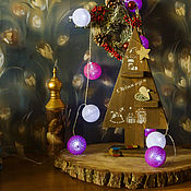 Украшения для дома ручной работы. Ярмарка Мастеров - ручная работа Елочка к Новому году. Handmade.