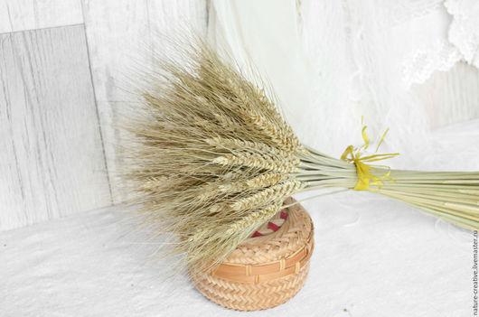 Букеты ручной работы. Ярмарка Мастеров - ручная работа. Купить Пшеница натуральная сухоцвет букетик. Handmade. Сухоцветы, лето