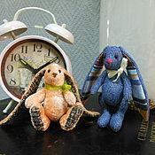 Куклы и игрушки ручной работы. Ярмарка Мастеров - ручная работа Зайчик-талисман. Handmade.