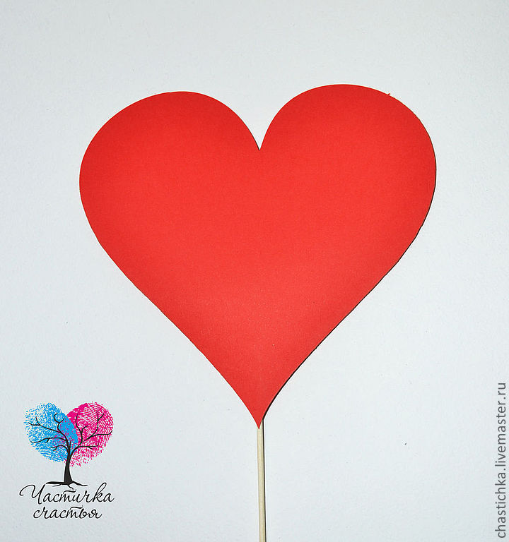Сердечки на палочке для фотосессии своими руками - Евробилдсервис