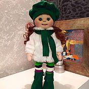 Куклы и игрушки ручной работы. Ярмарка Мастеров - ручная работа Текстильная кукла Дашенька. Handmade.