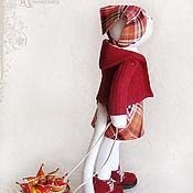 """Куклы и игрушки ручной работы. Ярмарка Мастеров - ручная работа Кошка """"Везли корзину с грушами..."""". Handmade."""